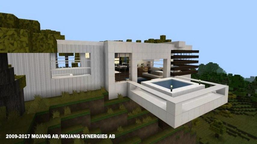 Minecraft Spielen Deutsch Minecraft Huser Modern Deutsch Bild - Minecraft material fur hauser