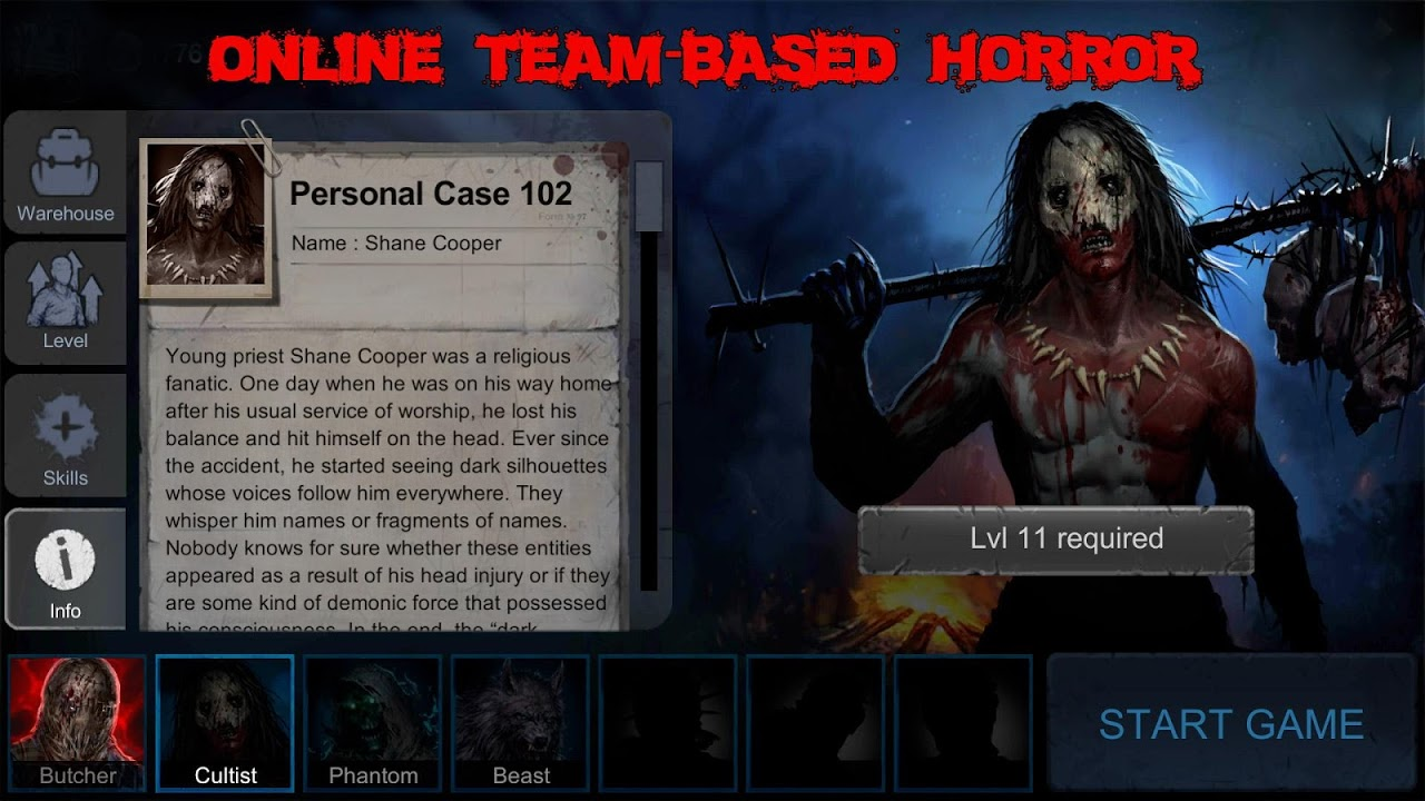 Horrorfield - Multiplayer Survival Horror Game screenshot 1