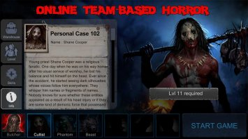 Horrorfield - Multiplayer Survival Horror Game Screen