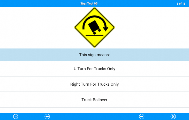 Motorcycle Permit Test 4 1 Android အတွက် Aptoide APK