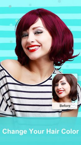 Z Camera Photo Editor Beauty Selfie Collage Download APK - Hair colour editor download