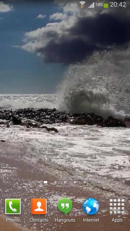 Ocean Waves Live Wallpaper Hd2 Screenshot 1