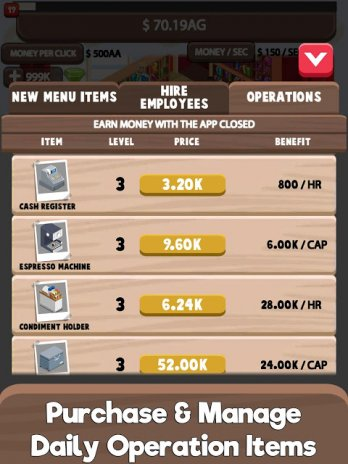 Idle Cafe Tycoon - My Own Clicker Tap Coffee Shop 1 11 4c