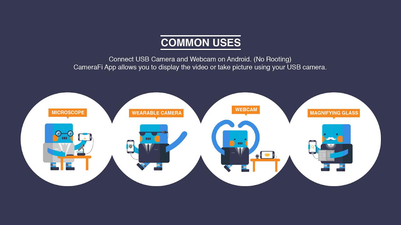 CameraFi - USB Camera / Webcam screenshot 1