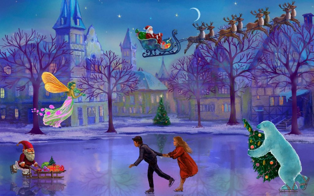 Calendar Live Wallpaper : Christmas rink live wallpaper download apk for android