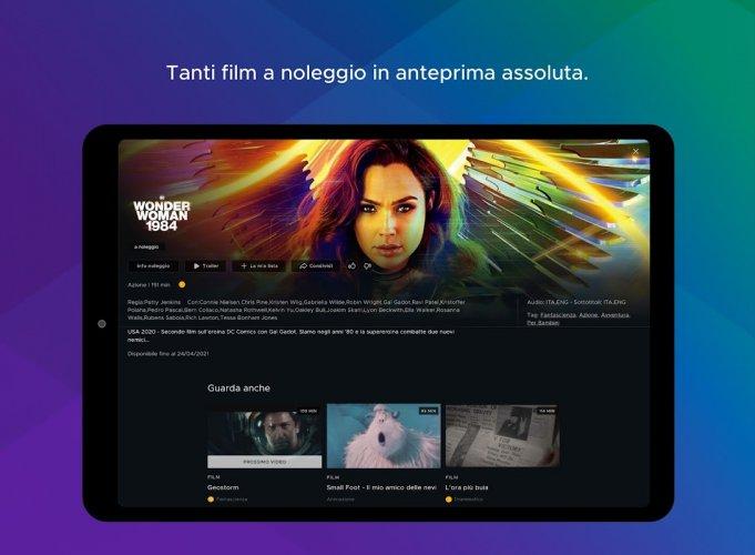 Mediaset Infinity TV screenshot 6