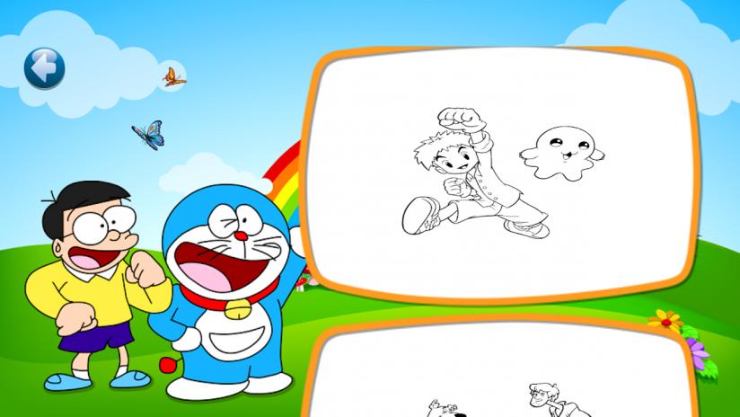Kids Färbung Cartoons 1.0 Laden Sie APK für Android herunter - Aptoide