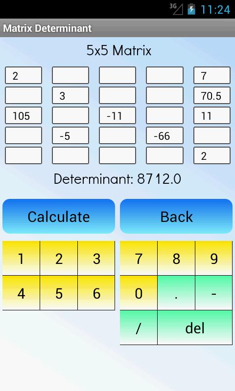 Matrix Determinant Pro screenshot 2