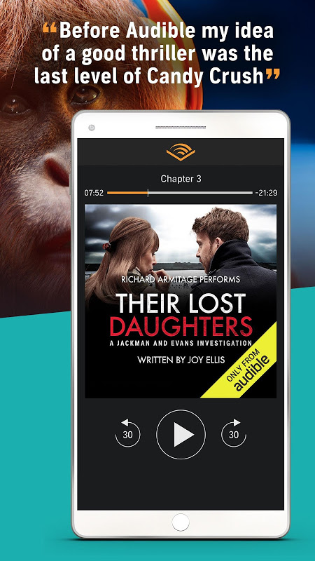 Audiobooks from Audible screenshot 7