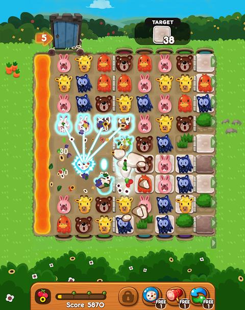 POKOPOKO The Match 3 Puzzle screenshot 2