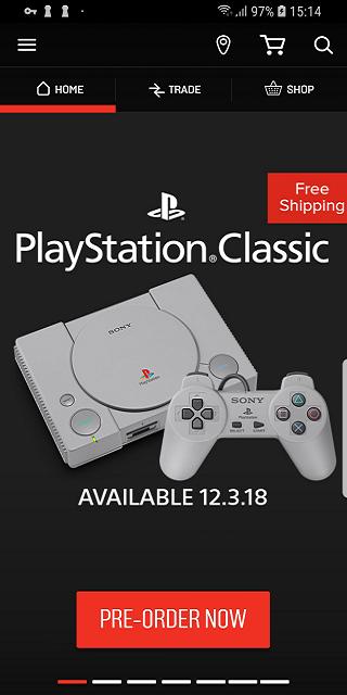 GameStop screenshot 1