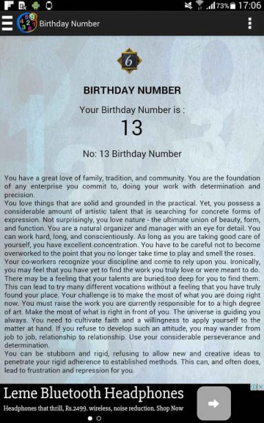 Numerology for born on 17 march image 2