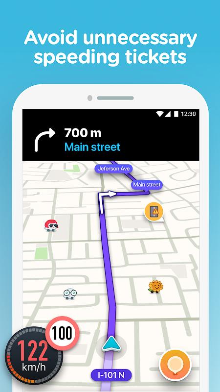 Waze - GPS, Maps, Traffic Alerts & Sat Nav screenshot 2