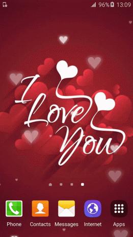 I Love You Live Wallpapers Hd Screenshot 3