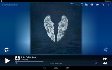 poweramp music player trial screenshot 1
