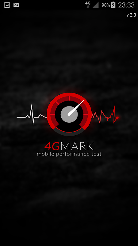 MySpeedCheck powered by 4GMARK 3G / 4G Speed Test screenshot 1
