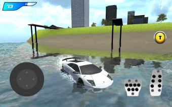 X Robot Car : Shark Water Screenshot