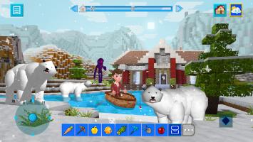 Terra Craft: Build Your Dream Block World Screen