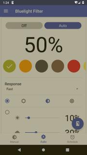 Bluelight Filter for Eye Care - Auto screen filter screenshot 8
