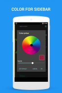 Capture d'écran Sidebar - Quick Launch App