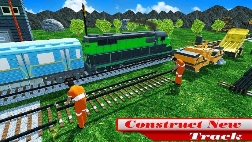 Real Train Track Construction Simulation 3D 2018 1 0 Download APK