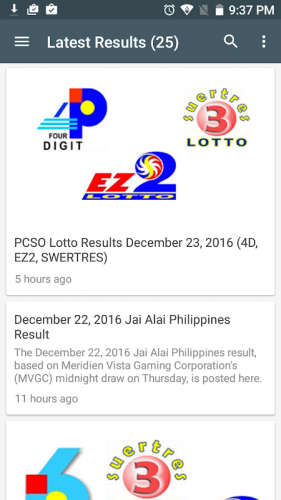 Pcso Lotto Result 3 3 Download Android Apk Aptoide