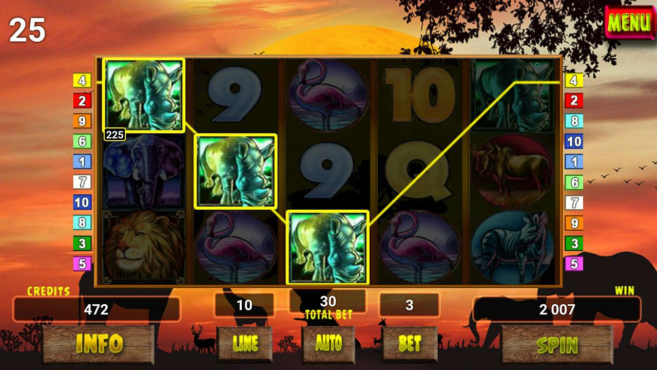 Safari Tour Slot screenshot 1