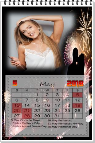 Calendar 2018 Photo Frames Wallpaper Hd 10 Descargar Apk