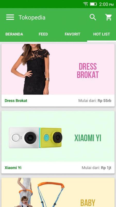 Tokopedia -  Jual Beli Online screenshot 2
