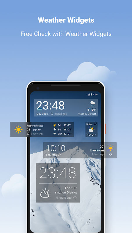 Weather –Simple weather forecast screenshot 1