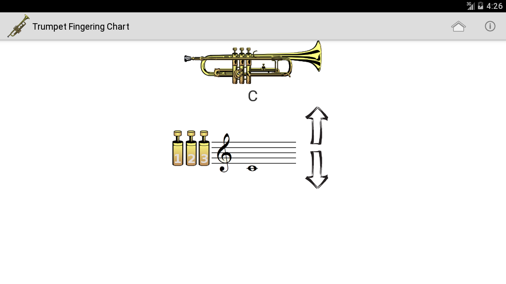 Trumpet Fingering Chart   Download APK for Android - Aptoide