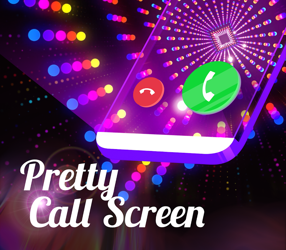 Color Flash Launcher - Call Screen, Themes screenshot 1