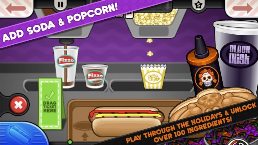 Tips papa's hot doggeria hd! For android apk download.