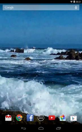 Ocean Waves Live Wallpaper Hd 59 Screenshot 9