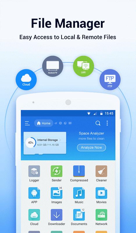 ES File Explorer/Manager PRO screenshot 1