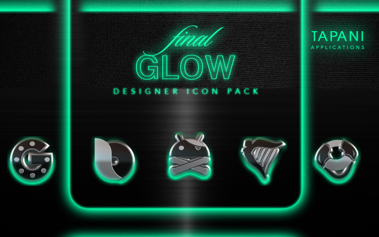 glow mint icon pack hd 3d 1 7 download apk for android aptoide