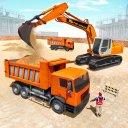 pesante scavatrice costruzione camion guida Giochi