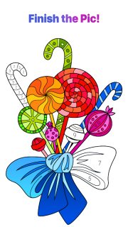 Paint by Numbers: New Colouring Pictures Book Free screenshot 7