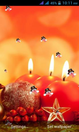Christmas Candle Wallpaper 11 Descargar Apk Para Android