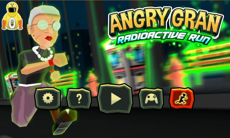 Angry Gran RadioActive Run 1.6.1 Download APK Android | Aptoide