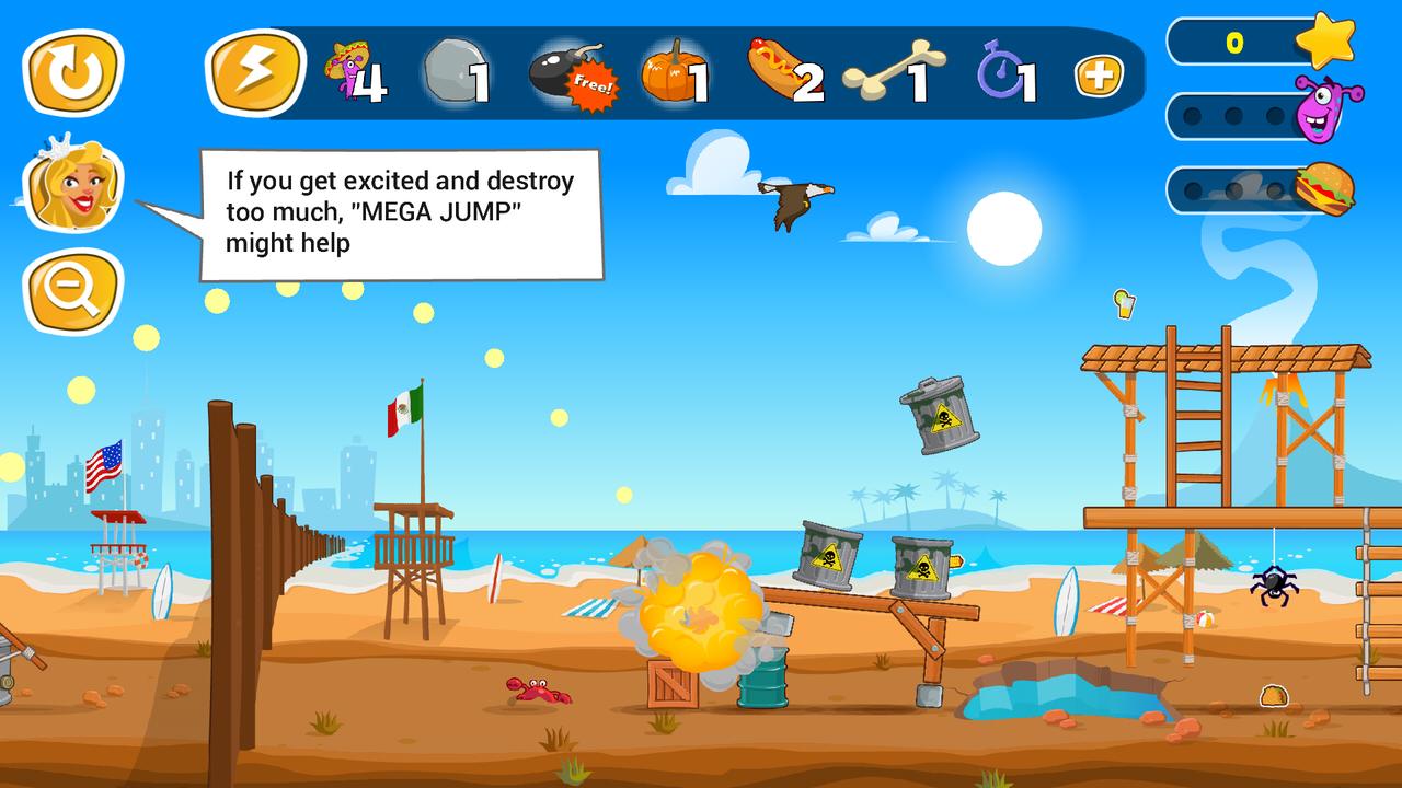 Jump the Wall - Mexico USA : Catapult, Jump, Escape - Appcoins ed. screenshot 5