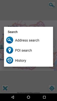 Map of Romania offline screenshot 2