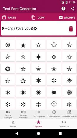 Text Font Generator Encode Messages 200 Download Apk Voor Android