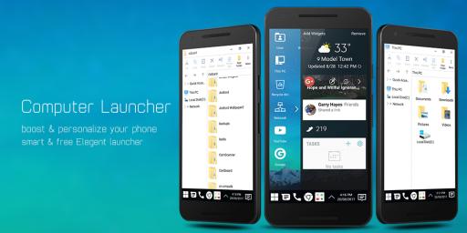 Computer Launcher screenshot 4