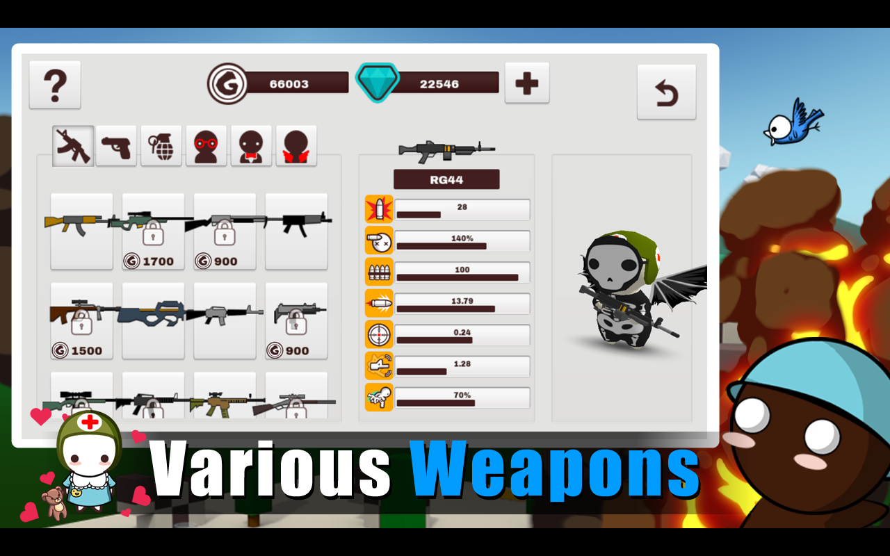 MilkChoco - Online FPS screenshot 11