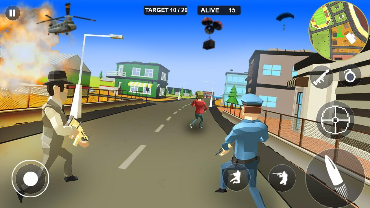 Pixel Battle Royale screenshot 1