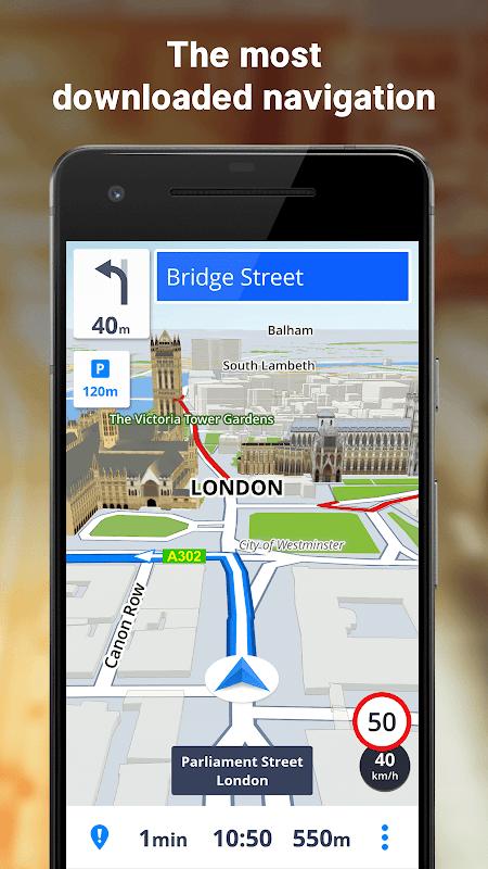GPS Navigation & Maps Sygic screenshot 9