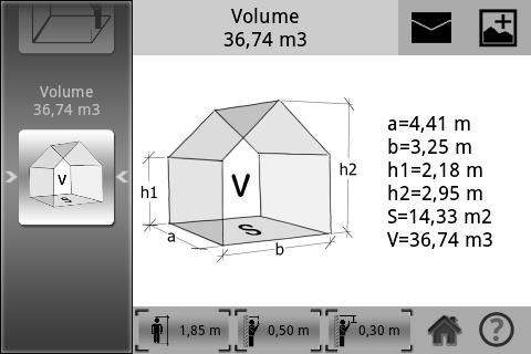 comment calculer le volume d une maison