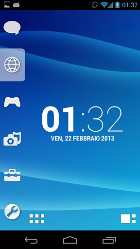 Smart Launcher Theme PSP/PS3 screenshot 1