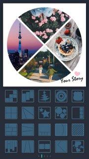 Mixoo Collage - Photo Frame Layout & Pic Grid screenshot 2